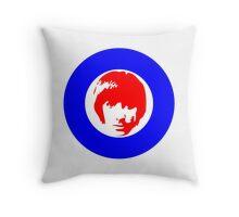 Keith Moon Mod T-Shirt Throw Pillow