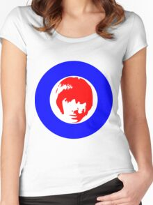 Keith Moon Mod T-Shirt Women's Fitted Scoop T-Shirt
