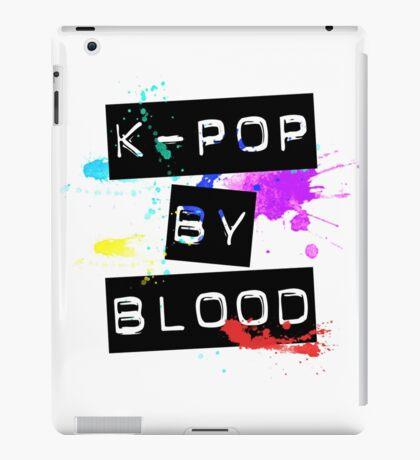 kpop by blood iPad Case/Skin