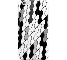 Grey scales iPhone Case/Skin