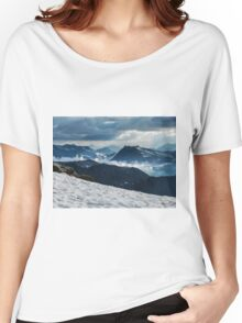 Cloudy valley Women's Relaxed Fit T-Shirt