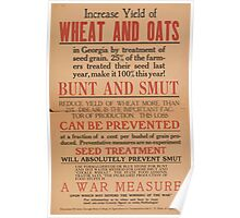 United States Department of Agriculture Poster 0207 what and Oats Bunt and Smut Prevention Poster