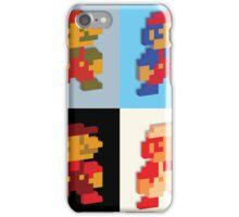 3D 8-bit Mario Colors iPhone Case/Skin