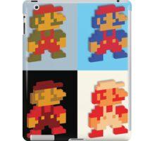 3D 8-bit Mario Colors iPad Case/Skin