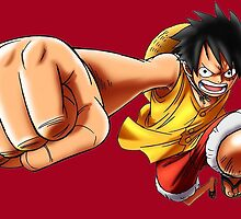 One Piece Luffy by razor93