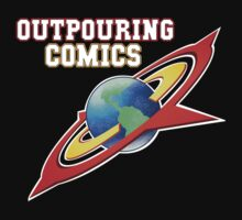 Outpouring Comics Logo  Baby Tee
