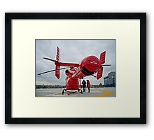 London Air Ambulance Framed Print