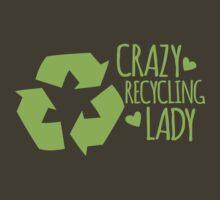 Crazy Recycling Lady by jazzydevil