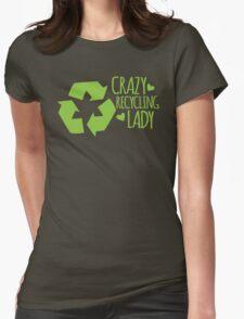 Crazy Recycling Lady T-Shirt
