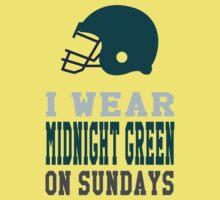 I Wear Midnight Green on Sundays One Piece - Short Sleeve