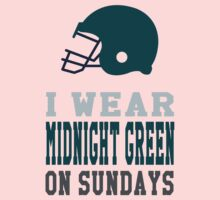 I Wear Midnight Green on Sundays One Piece - Long Sleeve