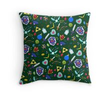 Hey! Look! Listen! Throw Pillow