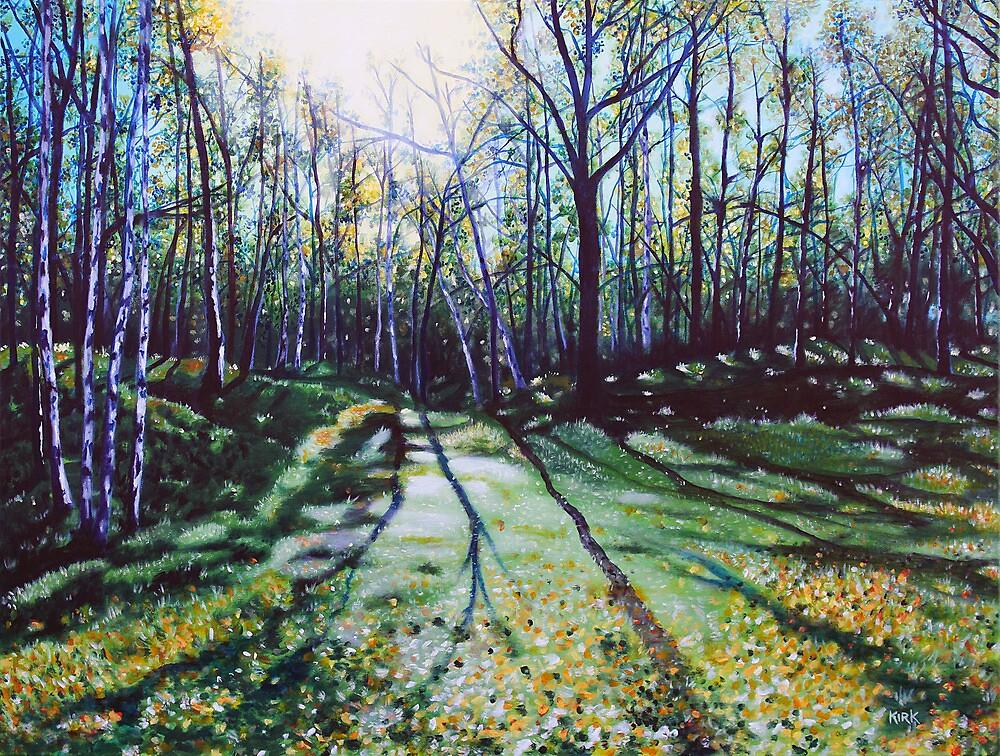 'Here Where The Light Shines Bright' (Alaska - Tony Knowles Coastal Trail) by Jerry Kirk