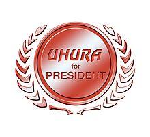 Uhura for President Photographic Print