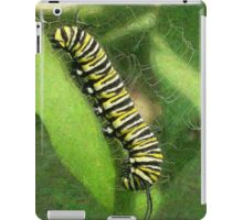Monarch Caterpillar - Sunset Relaxing iPad Case/Skin