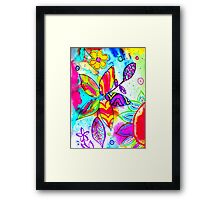 Live Your Life In Color! Framed Print