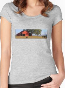 Tranquil Morn Women's Fitted Scoop T-Shirt