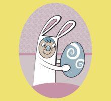 I'm in my Rabbit Suit Easter design Kids Tee