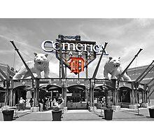 Comerica Park baseball stadium Detroit Photographic Print