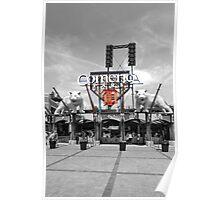 Comerica Park baseball stadium Detroit Poster