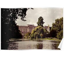 Buckingham Palace from St. James Park Poster