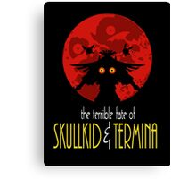 THE TERRIBLE FATE OF SKULL KID &TERMINA (BATMAN THE ANIMATED SERIES PARODY) Canvas Print
