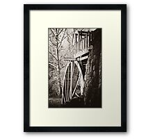 the Old Mill of Guilford Framed Print
