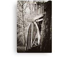 the Old Mill of Guilford Canvas Print