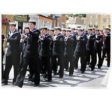 British Royal Navy Sailors Poster