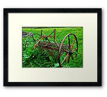 Farm Equipment, Caherconnell Framed Print
