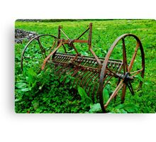 Farm Equipment, Caherconnell Canvas Print