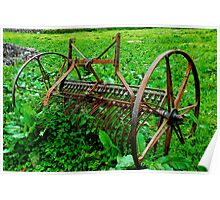 Farm Equipment, Caherconnell Poster