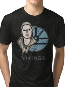 Lagertha Vikings Tri-blend T-Shirt
