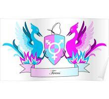 Trans Crest Poster