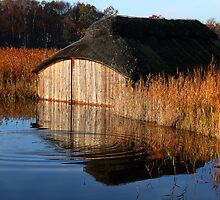 Hickling Boathouse by Norfolkimages