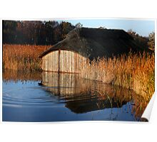 Hickling Boathouse Poster
