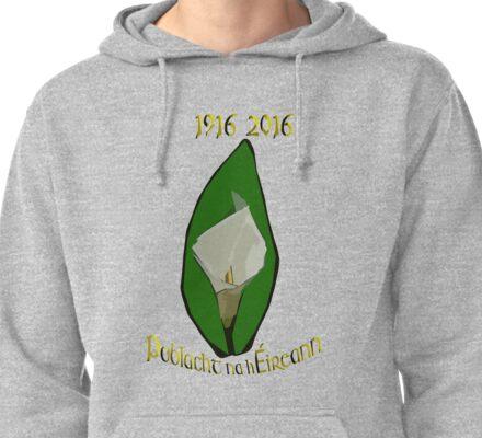 Poblacht na hEireann Republic of Ireland  Pullover Hoodie