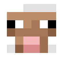 Minecraft Sheep face by desuumbreon