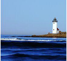 The Deep Blue Sea.... Photographic Print