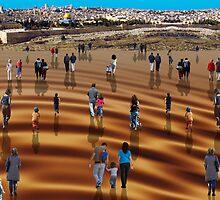 Modern pilgrimage by Moshe Cohen