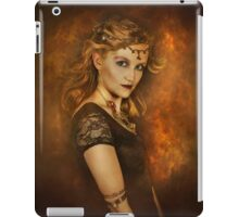 Fire girl  iPad Case/Skin