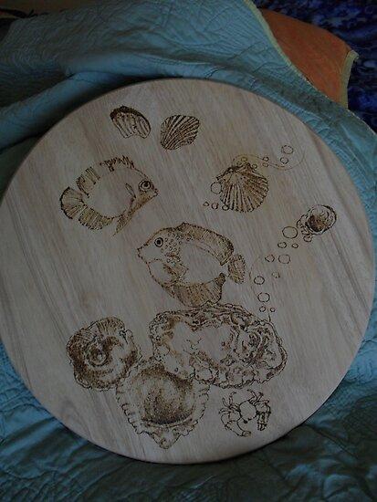 fishy  shell lazy suzanne by lynnieB