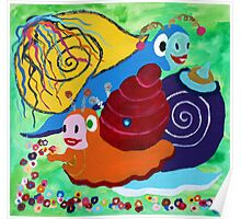 Carnevals Snail Poster