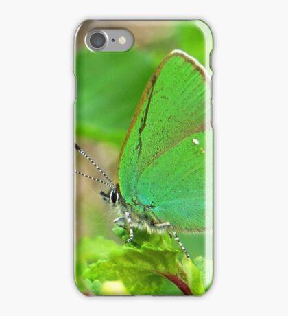 Little Green Butterfly iPhone Case/Skin