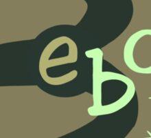 Bebop Vintage Sign Sticker