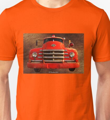 1955 Diamond T Grille - The Cadillac Of Trucks Unisex T-Shirt