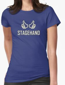 Stagehand Womens Fitted T-Shirt