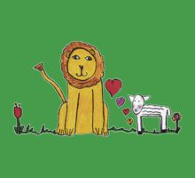 Tane's Lion and Lamb Baby Tee