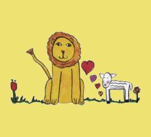 Tane's Lion and Lamb Kids Clothes