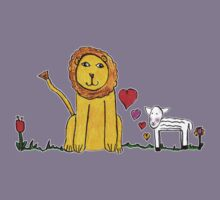 Tane's Lion and Lamb Kids Tee